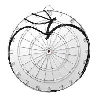 Apple Illustration Dartboard