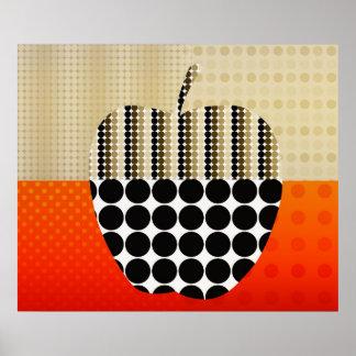 apple impression poster