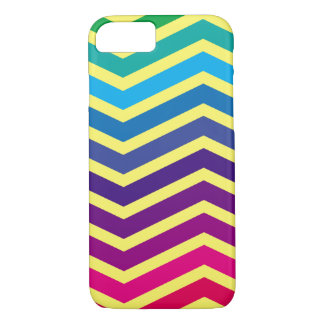 Apple iPhone 7, Barely There Phone Case zigzag