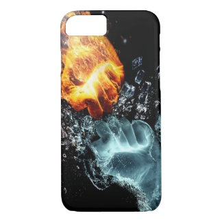Apple iPhone 7 Case - Fire vs Water