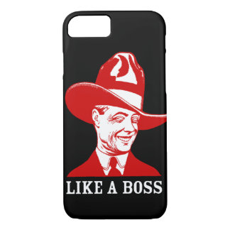 "Apple iPhone 7 Case: ""LIKE A BOSS"" iPhone 7 Case"