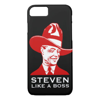 """Apple iPhone 7 Case: Personalized """"LIKE A BOSS"""" iPhone 8/7 Case"""