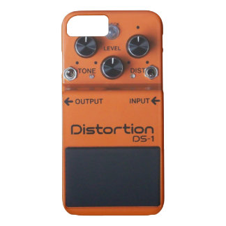 Apple iPhone 7 Case: Rock Orange Distortion Pedal iPhone 7 Case
