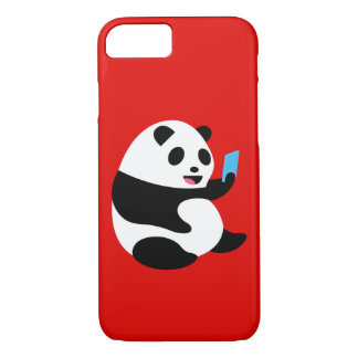 "Apple iPhone 7 Case: ""Selfie Panda"" iPhone 8/7 Case"