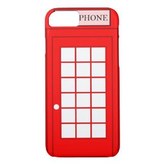 Apple iPhone 7 case with British phonebox graphic