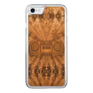 Apple iPhone 7 Cherry Wood Case (Vintage Boom)
