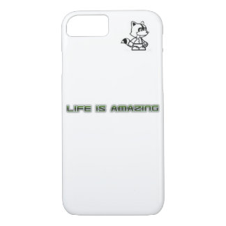Apple iPhone 7 life is amazing case with dribbles