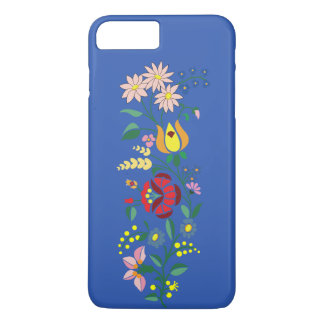 Apple iPhone 7 Plus with flower Embroidery iPhone 8 Plus/7 Plus Case