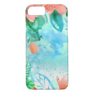 Apple iPhone 7, Watercolor flowers Phone Case