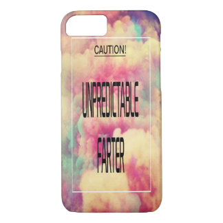 Apple iPhone 8/7 Unpredictable Farter Funny Text iPhone 8/7 Case