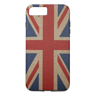 Apple iPhone 8 Plus/7 Plus print with Britain flag iPhone 8 Plus/7 Plus Case