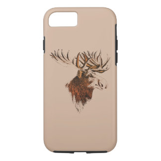 apple iphone hard case elk moose design smartphone