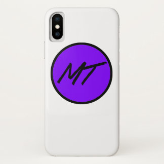 Apple iPhone X Meghan Rose T. Logo Case