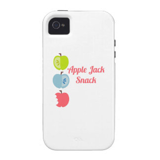 Apple Jack Snack Vibe iPhone 4 Cover