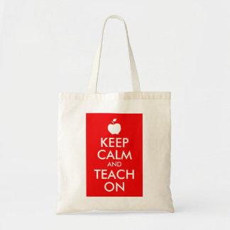 Apple Keep Calm and Teach On