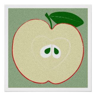 Apple, Kitchen Art, Food, Minimalist