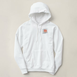 Apple LOVE color pencil picture Hoodie