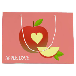 Apple Love Large Gift Bag