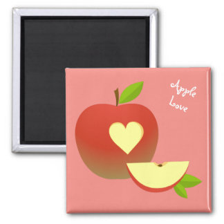 Apple Love Magnet
