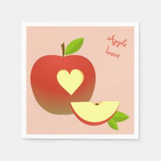 Apple Love Paper Napkin