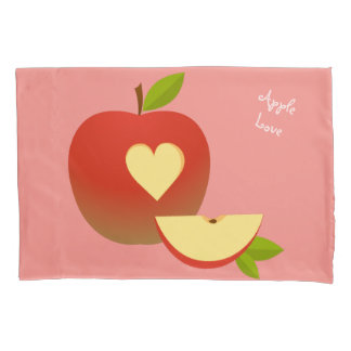 Apple Love Pillowcase