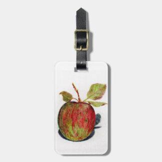 Apple Luggage Tag