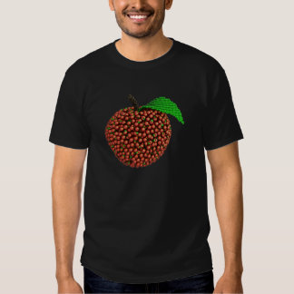 Apple made of apples t shirt