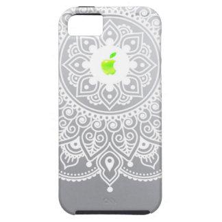 Apple Mandala green iPhone 5 Cases