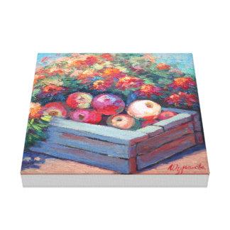 Apple mood canvas print