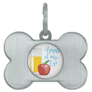 Apple Of Eye Pet Name Tags