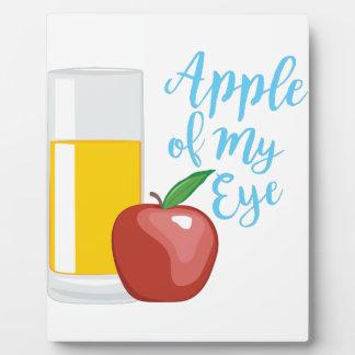 Apple Of Eye Photo Plaques