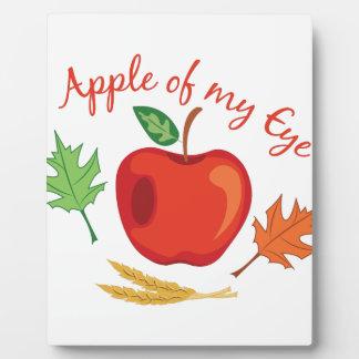 Apple Of Eye Plaque