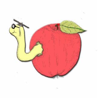 Apple of Knowledge Keychain Photo Cutout