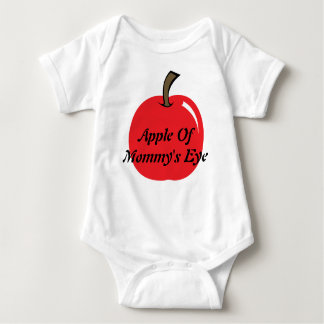 Apple of Mommy's Eye Baby Bodysuit