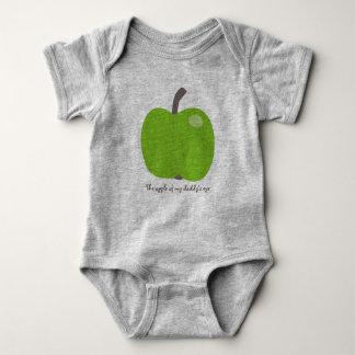 Apple of my eye baby bodysuit