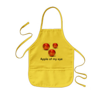 Apple of my eye chlids apron