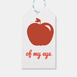 Apple of my eye merchandise gift tags