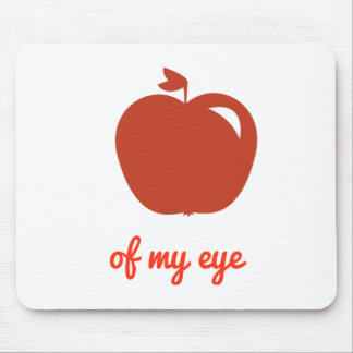 Apple of my eye merchandise mouse pad