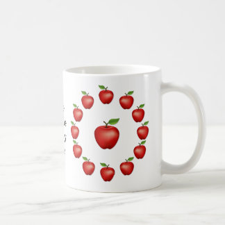 Apple of My Eye, Red Delicious Coffee Mug