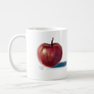 Apple on a cup