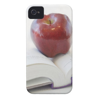 Apple on Open Text Book Case-Mate iPhone 4 Case