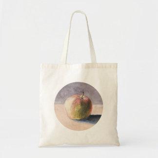 Apple on Table - Painting