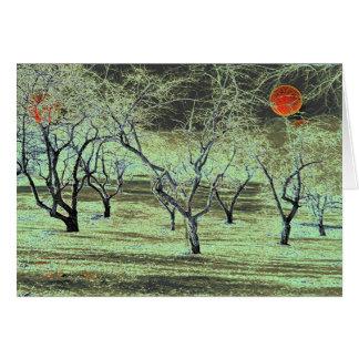 Apple Orchard # 5 Card