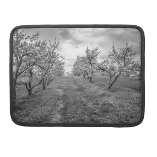 Apple Orchard in Spring Sleeve For MacBook Pro