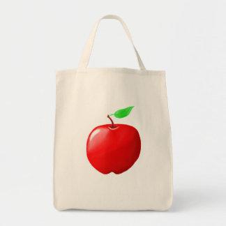 Apple Organic Grocery Tote Tote Bag