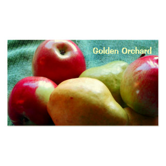 Apple Pear Delight Business Cards