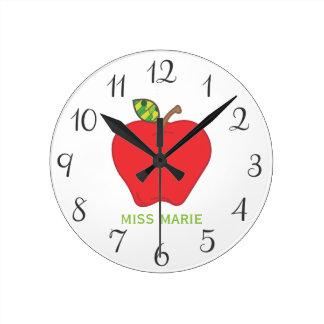 Apple | Personalized Teachers Clock