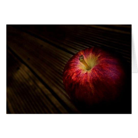 apple photograph card