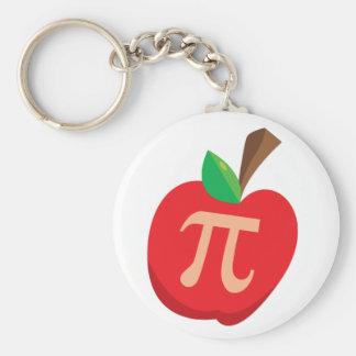 Apple Pi Basic Round Button Key Ring