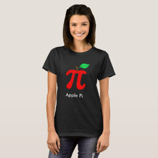 Apple Pi Pun Art T-Shirt